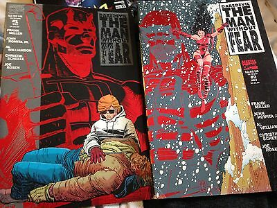 Daredevil The Man Without Fear #1 & #2 Frank Miller