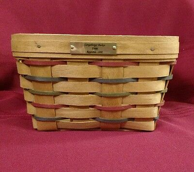 Longaberger 1992 Woven Traditions Large Berry Basket