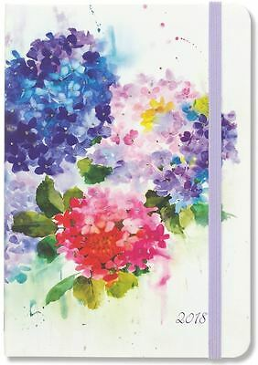 Peter Pauper 2018 Hydrangeas Weekly Planner (16-Month Engagement Diary)