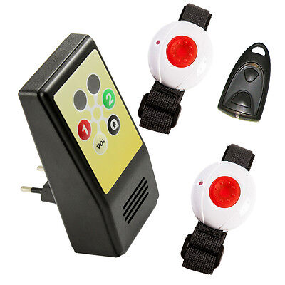 "Maintenance monitor Kit HelpLine ""for two"" PLUS with receiver,2 Channels und"