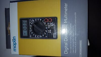 Maplin Domestic Multimeter, including Battery Bulb and Fuse Tester