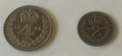 1934 Maundy coins