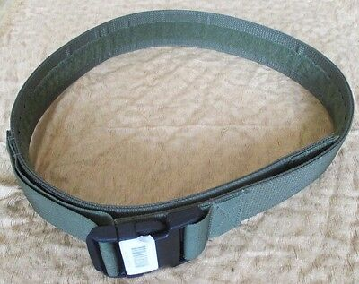 New Genuine Us Army Issue Tactical Tailor Duty Belt. Medium. Olive/od Green.
