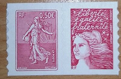 TIMBRE FRANCE 2003 -  AUTOADHESIF N°YT  P3619 Neuf **    (3619 et 3419a)