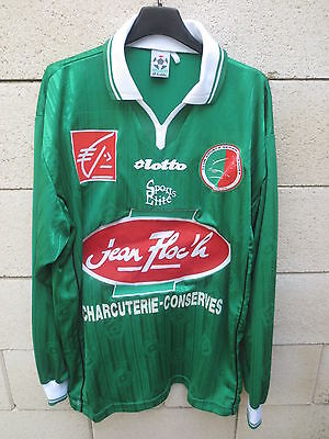 VINTAGE Maillot SEDAN shirt LOTTO manches longues football collection maglia XL