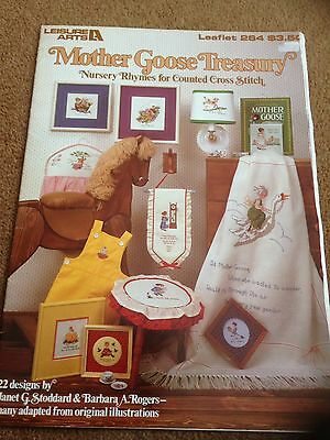 Mother goose Treasury Cross Stitch Chart