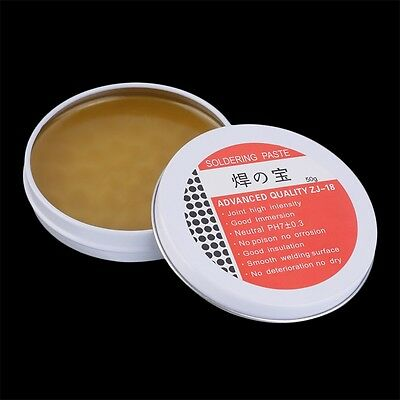 50g Rosin Soldering Flux Paste Solder High Intensity Welding Grease Hot CU