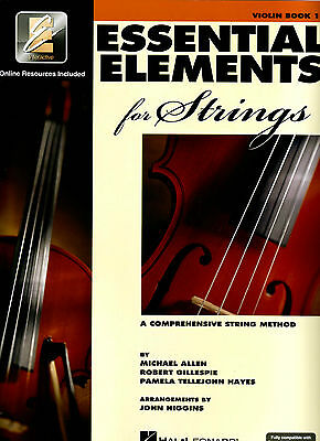Essential Elements for Strings Book 1 - Violin EE Interactive - 868049  ***NEW