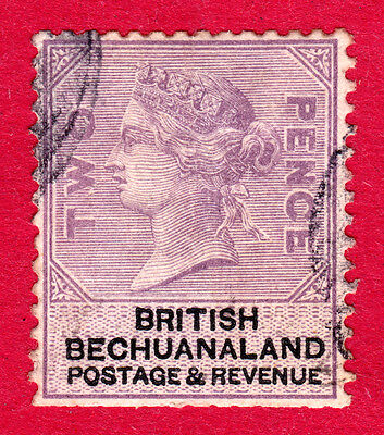 British Bechuanaland Stamps. QV 1887 2d. SG11. Used. #3062