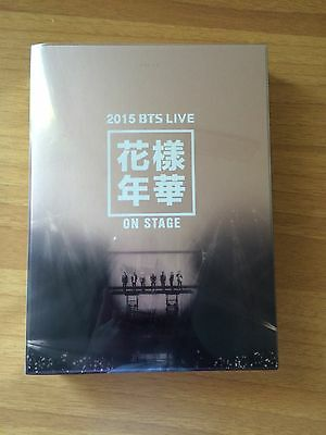 2015 BTS LIVE In The Mood For Love ON STAGE DVD + RM PHOTOCARD + FREE GIFTS