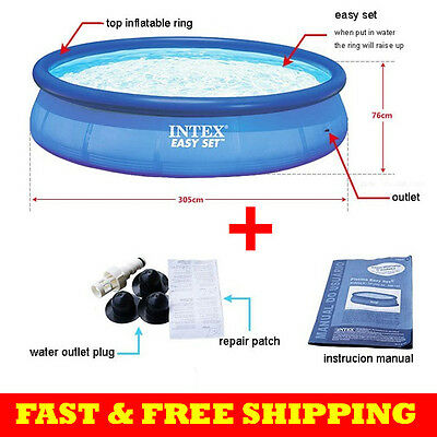 INTEX Above Ground Swimming Pools Easy Set Swimming Pool 305*76 Cm Piscina
