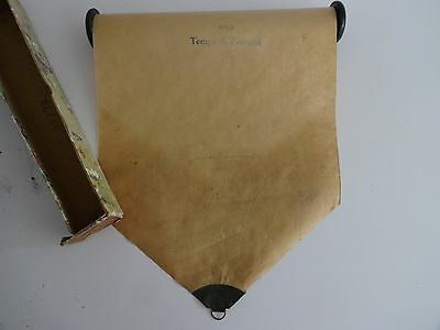 "Antique Pianola /Piano Music Roll-""Last of the Sun"" Fox-Trot Brooks-Bowman"