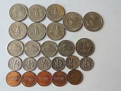 UNITED STATES OF AMERICA CURRENCY COINS Ref 187