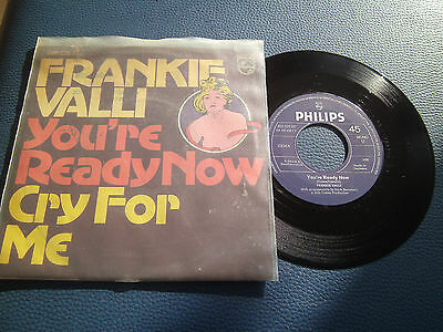 Frankie Valli - You´re Ready Now - Beat Rock Oldies Singles