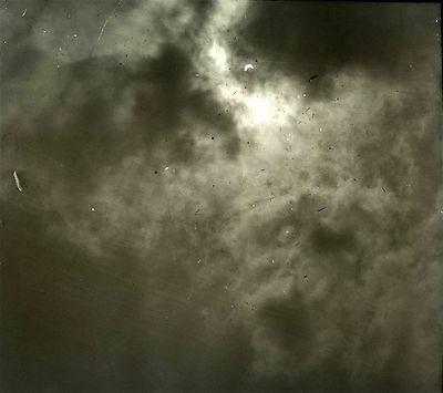Photographic Glass Stereo Slide  Eclipse Of The Sun April 1912 Image