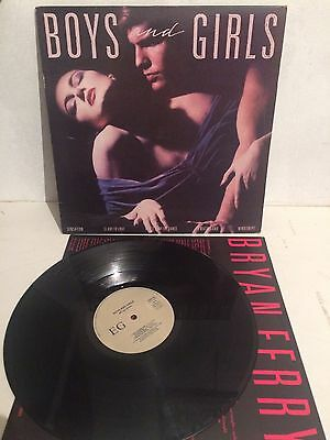 Brian Ferry - Boys And Girls LP Vinyl EGLP62 Ita Press EX/VG+