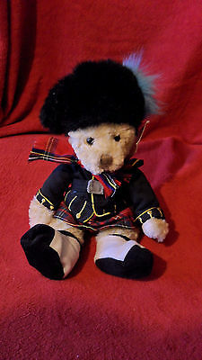 russ royal collection scottish piper bear