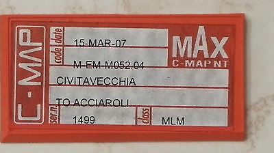 C-map MAX  Civitavecchia to Acciaorli