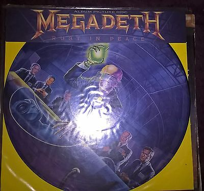 "Megadeth rust in peace 12"" picture disk"