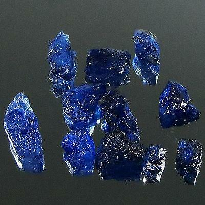 Gem Lot 35.50 Ct - Wonderful Heated Natural Rough Blue Sapphire Madagascar