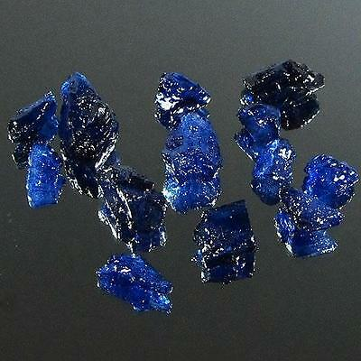 Gem Lot 35.78 Ct - Wonderful Heated Natural Rough Blue Sapphire Madagascar