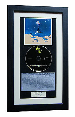 ELO Time CLASSIC CD Album GALLERY QUALITY FRAMED+EXPRESS GLOBAL SHIP+ORCHESTRA
