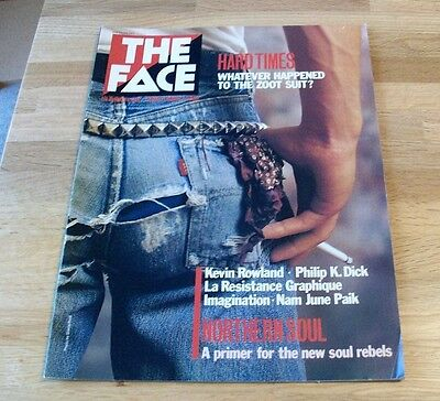 The Face Magazine - No 29  September 1982 - Hard Times Cover