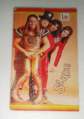 SLADE THAI Book Magazine 1974 MUD Deep Purple David Bowie Osmonds Paul McCartney