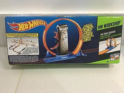 Hot wheels car track, motorised loop and new tracks