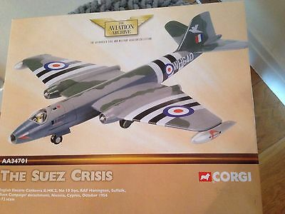 Corgi AA34701 Aviation Archive English Electric Canberra B.Mk 2 Die Cast Model