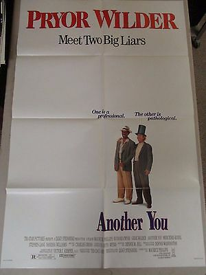 Vintage 1 sheet 27x41 Movie Poster Another You 1991 Gene Wilder Richard Pryor