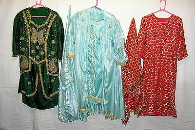 Joblot of Aladdin Style Costumes for Stage / Theatre / Panto or Fancy Dress