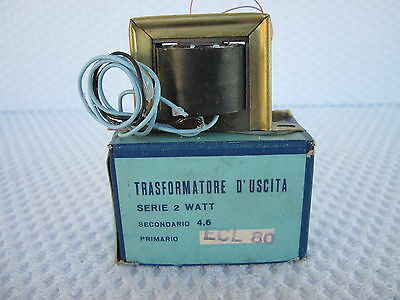 Trasformatore D'uscita X Ecl80 2W Single Ended Nos