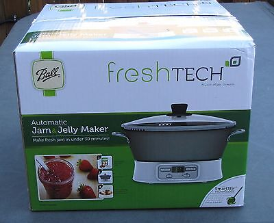 Ball Fresh Tech Automatic Jam & Jelly Maker, New in Open Box FTJM-12-01