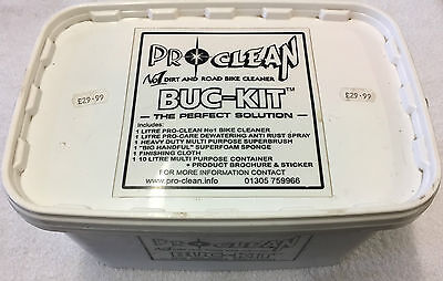 Pro Clean Dirt and Road Bike Cleaner Buc-Kit