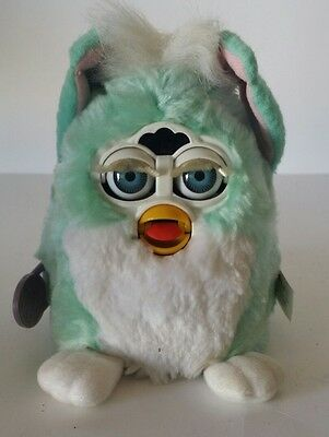 Furby Babies 1999 Tiger Electronics Model 70-940 Baby Blue & White New Sealed