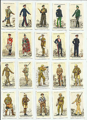Full Set - Players - Uniforms of the Territorial Army - 1939