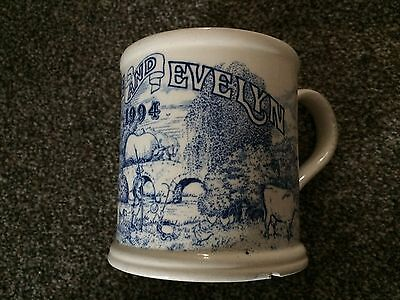 MASONS IRONSTONE made for CRABTREE & EVELYN 1994 ANNUAL COLLECTOR'S MUG