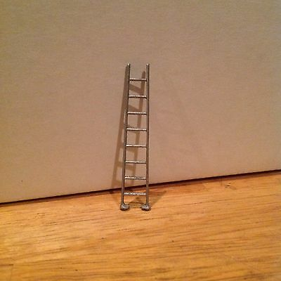Tootsietoy  Vintage Replacement Silver Ladder  . Made in USA Toy Parts