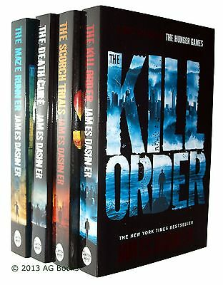 The Maze Runner 4 Book Trilogy Books James Dashner Young Adult New