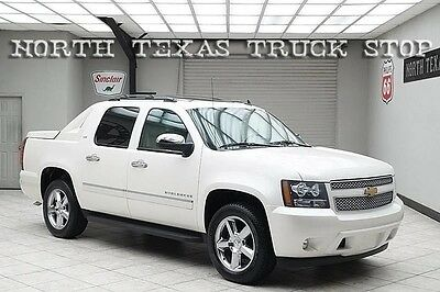 2012 Chevrolet Avalanche LTZ Crew Cab Pickup 4-Door 2012 Chevy Avalanche LTZ 2WD Navigation DVD Sunroof Cooled Seats Rear Camera