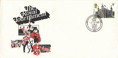 1978 Royal Tournament cover with BFPS 1000 SPMK.