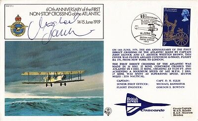 1979 60th Anniv of 1st Non-Stop Atlantic Crossing with BFPS 1643 SPMK.