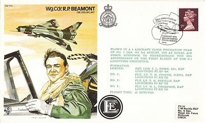 1979 25th Anniv of First Lightning Flight cover with BFPS 1646 SPMK.