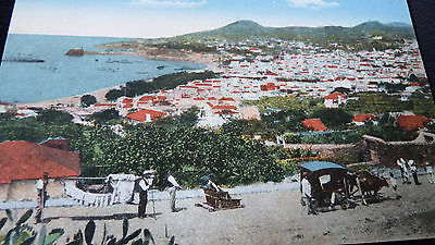 Old Postcard View Of Funchal Madeira Portugal