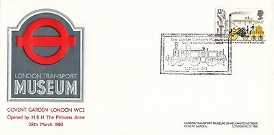 1980 London Transport Museum cover with SPMK