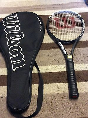 Wilson Hyper Hammer Carbon Tennis Racket & Cover