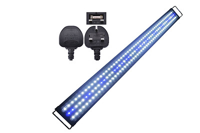 AquarienEco 3.9-5ft LED Aquarium Light 49-59in 120-153cm 40W Aquariums Lights 60