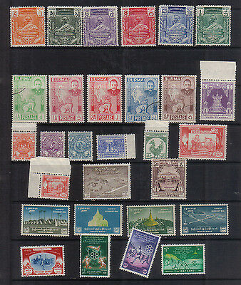 Burma 1948-61 Collection - much unmounted mint