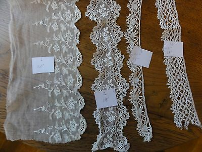 Original Antique  Lace Trimming and Borders.